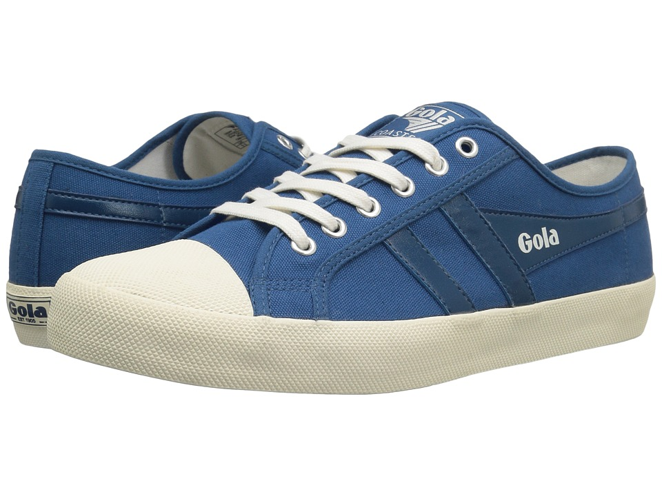 Gola - Coaster (Marine Blue/Marine Blue/Off-White) Men's Lace up casual Shoes