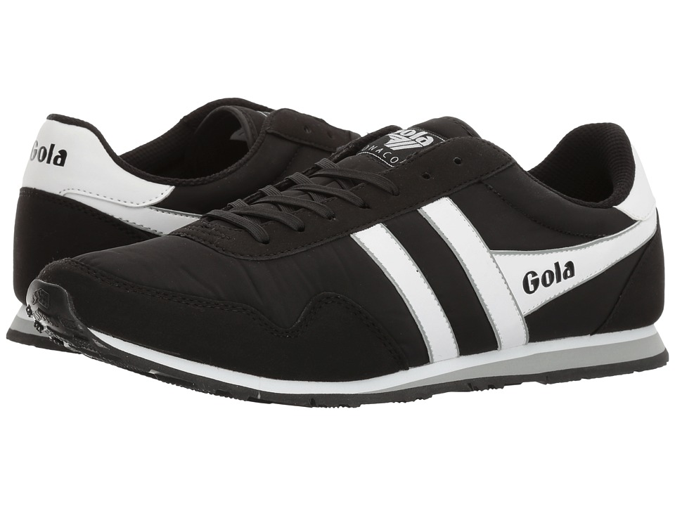 Gola - Monaco (Black/White/Grey) Men's Shoes