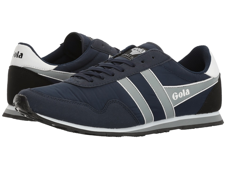 Gola - Monaco (Navy/Grey/White) Men's Shoes