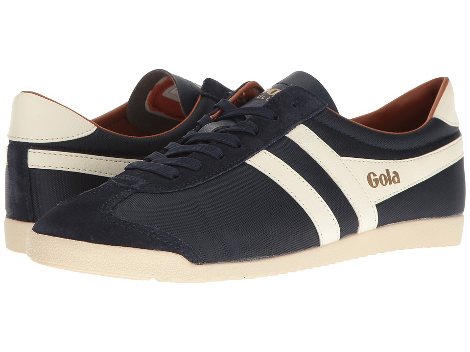 Gola - Bullet Nylon (Navy/Ecru/Orange) Men's Shoes