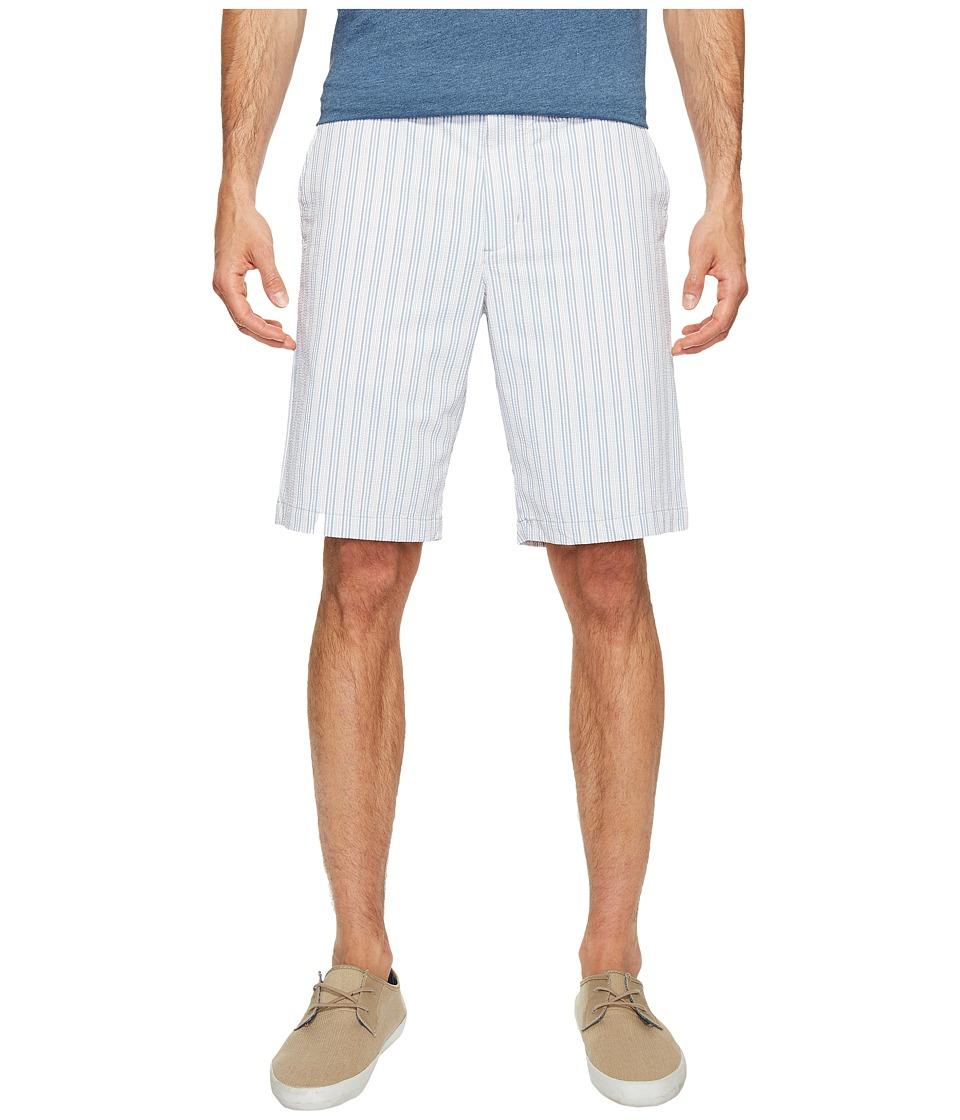 Tommy Bahama - Putter Stripe Shorts (White) Men's Shorts