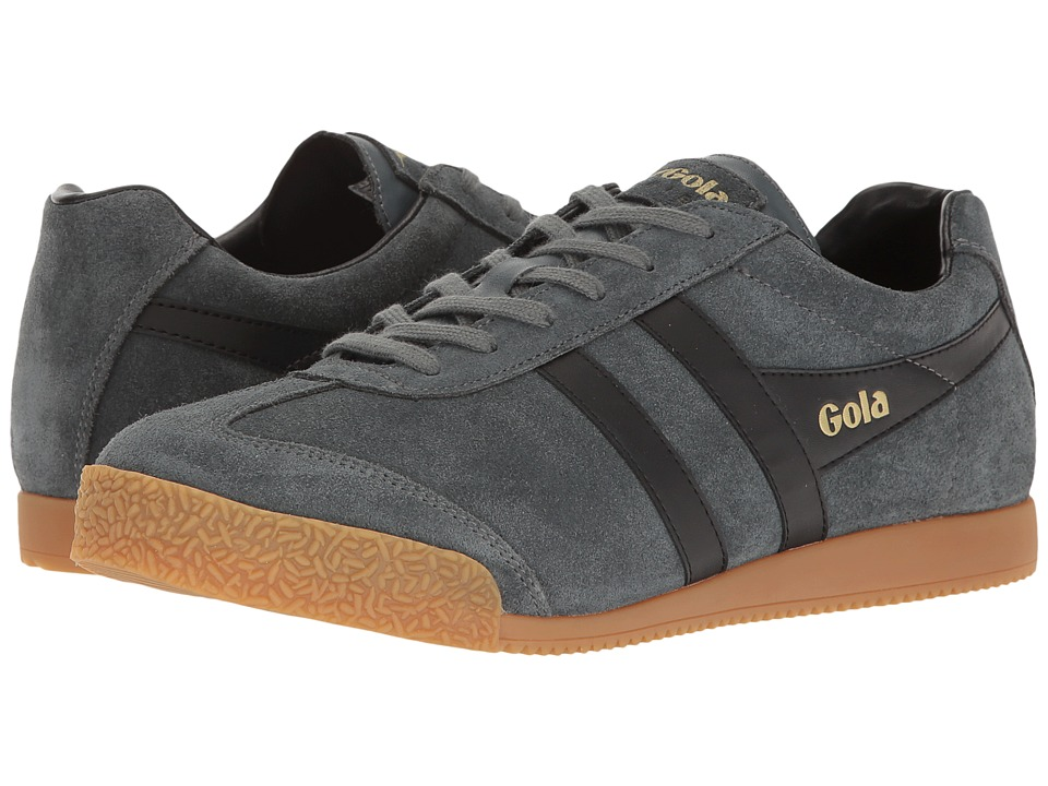 Gola - Harrier (Graphite/Black) Men's Shoes