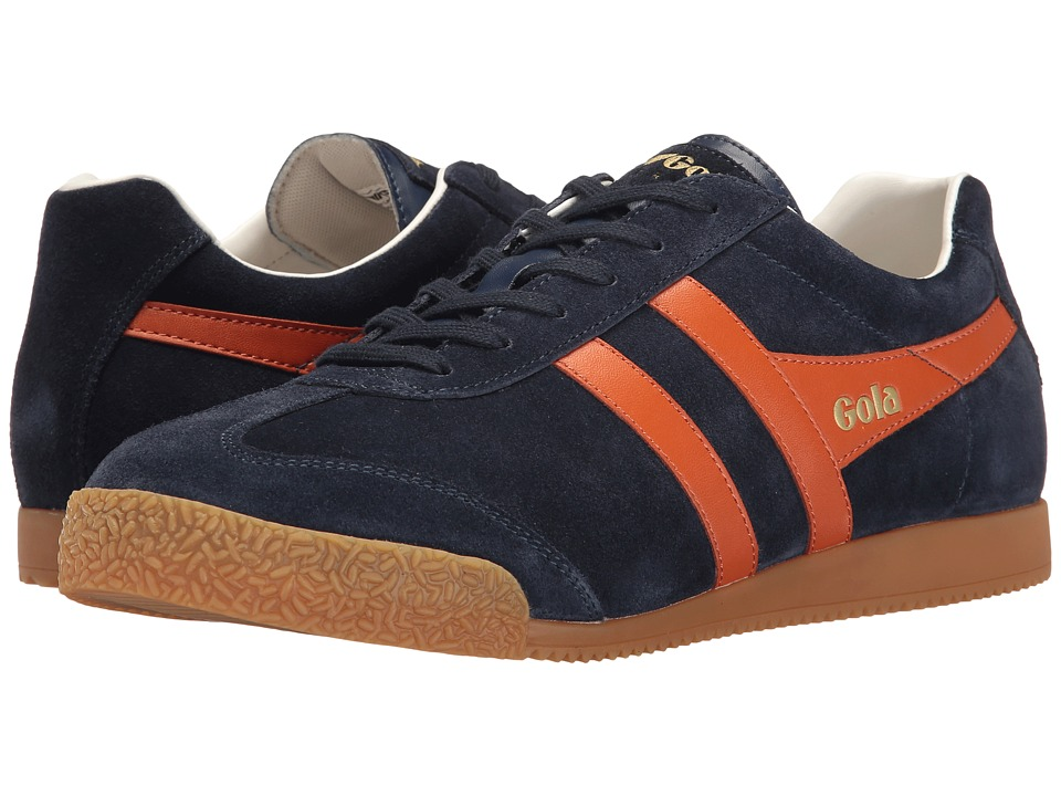 Gola - Harrier (Navy/Orange/Off-White) Men's Shoes