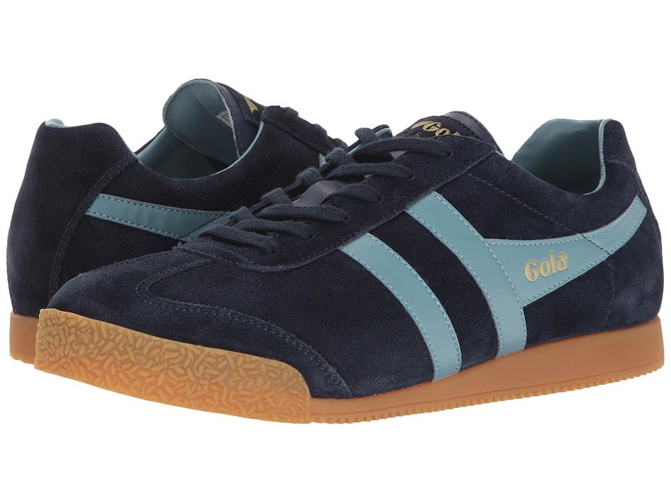 Gola - Harrier (Navy/Sky Blue) Men's Shoes