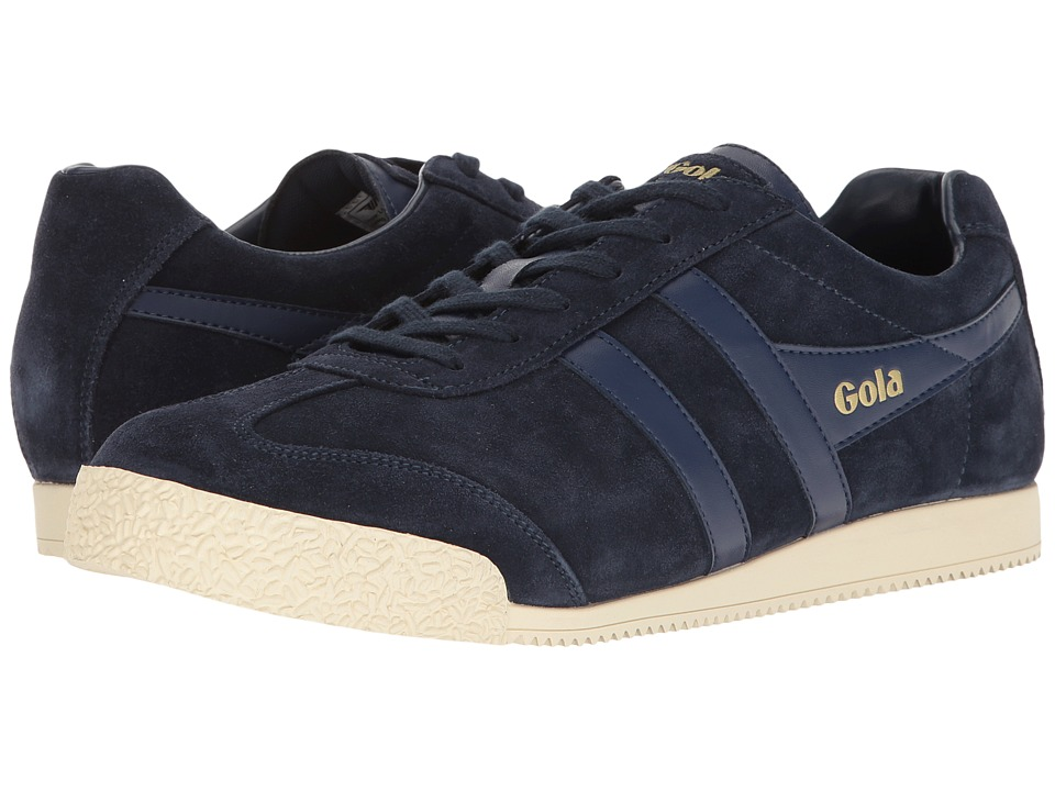 Gola - Harrier (Navy/Navy/Off-White) Men's Shoes