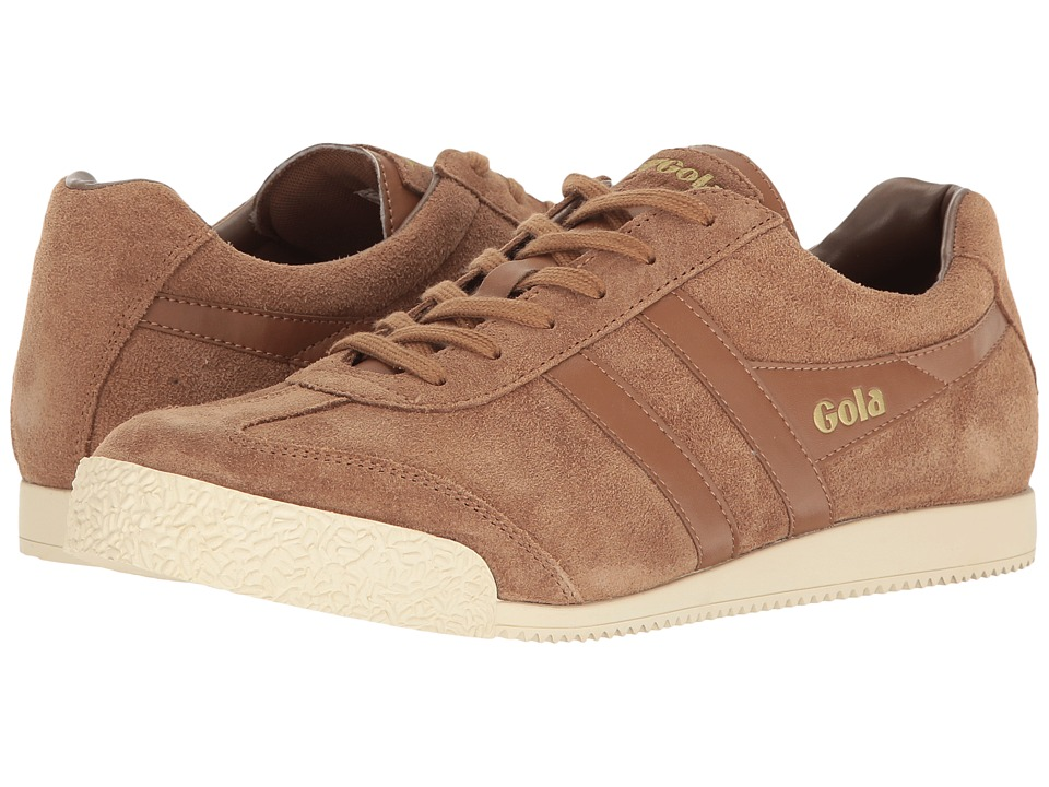 Gola - Harrier (Tobacco/Tobacco/Off-White) Men's Shoes