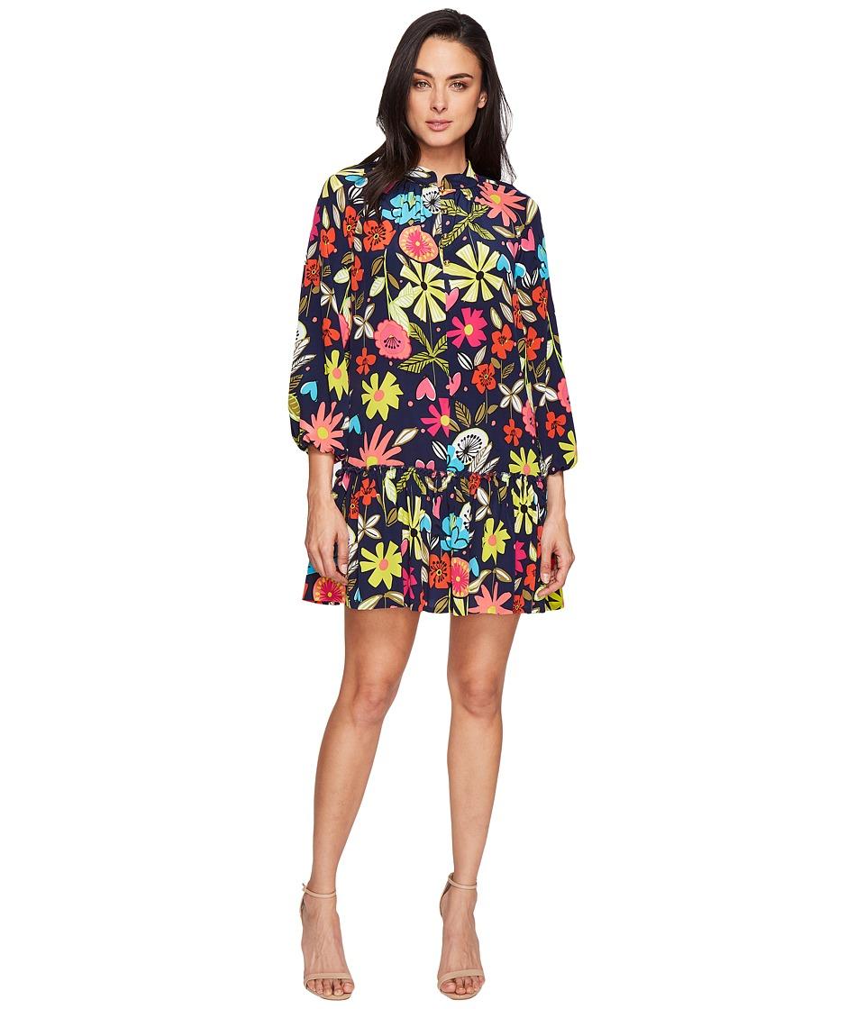 Trina Turk - Corozone Dress (Indigo) Women's Dress