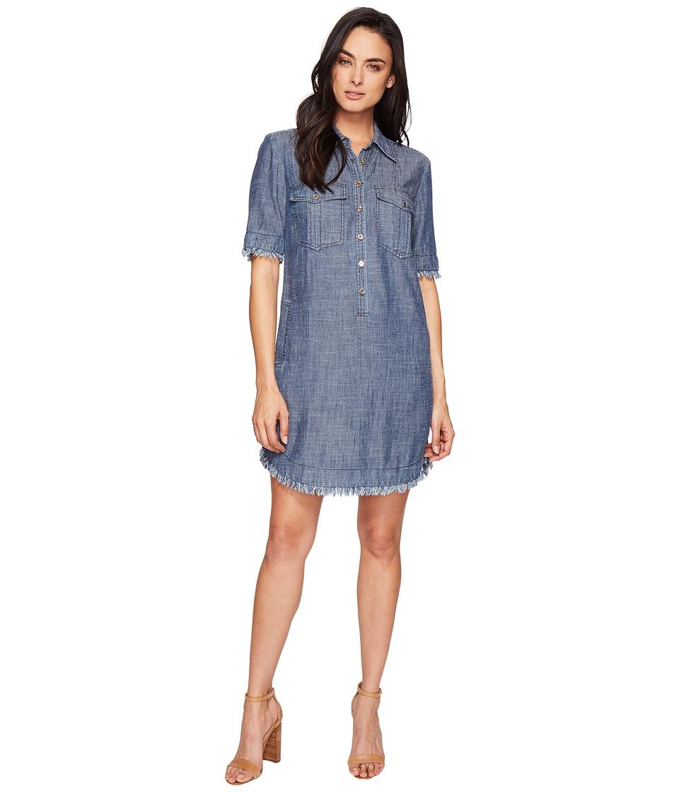 Trina Turk - Rosetta Shirtdress (Dark Indigo) Women's Dress