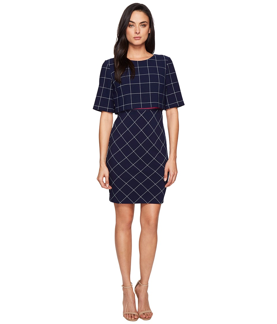 Trina Turk Avila Dress (Indigo) Women