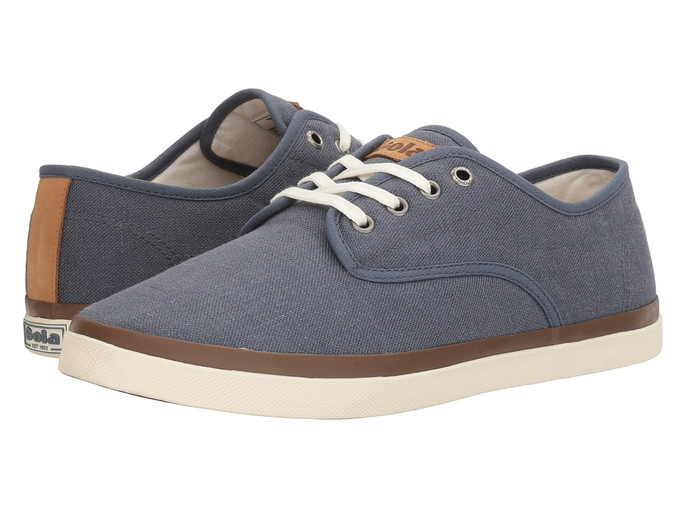 Gola - Seeker Linen (Slate Blue) Men's Shoes
