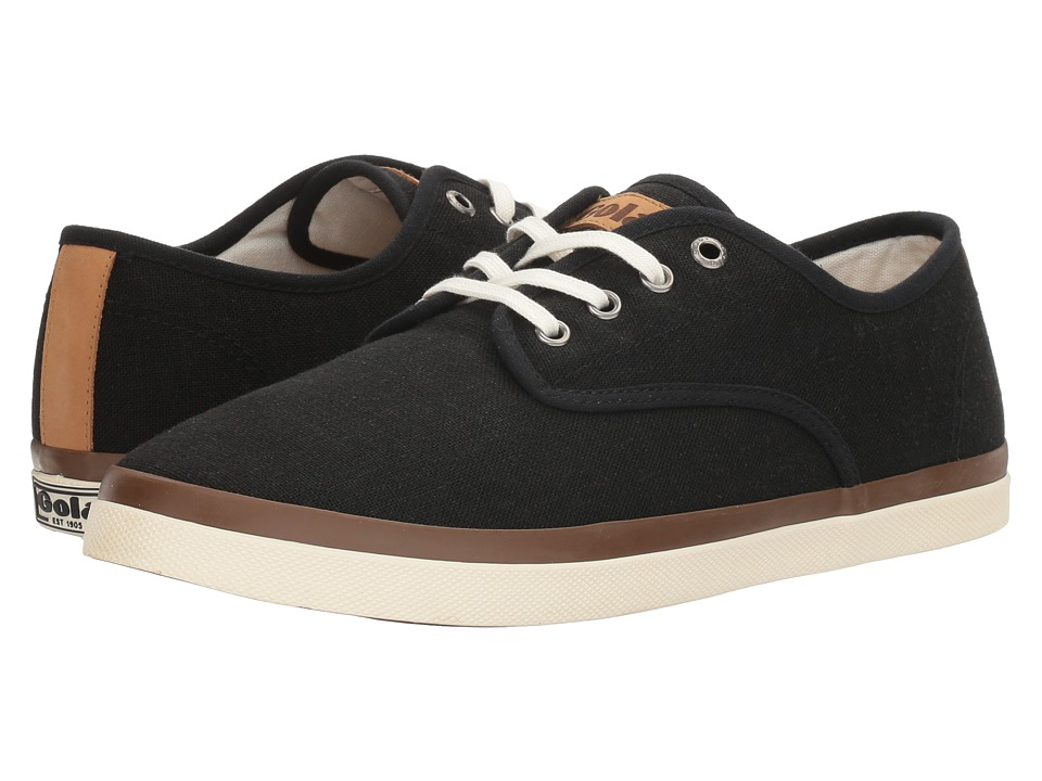 Gola - Seeker Linen (Black) Men's Shoes