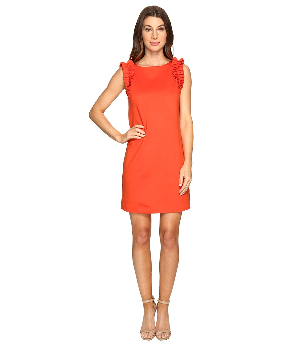 Trina Turk Sirena Dress (Tomate) Women