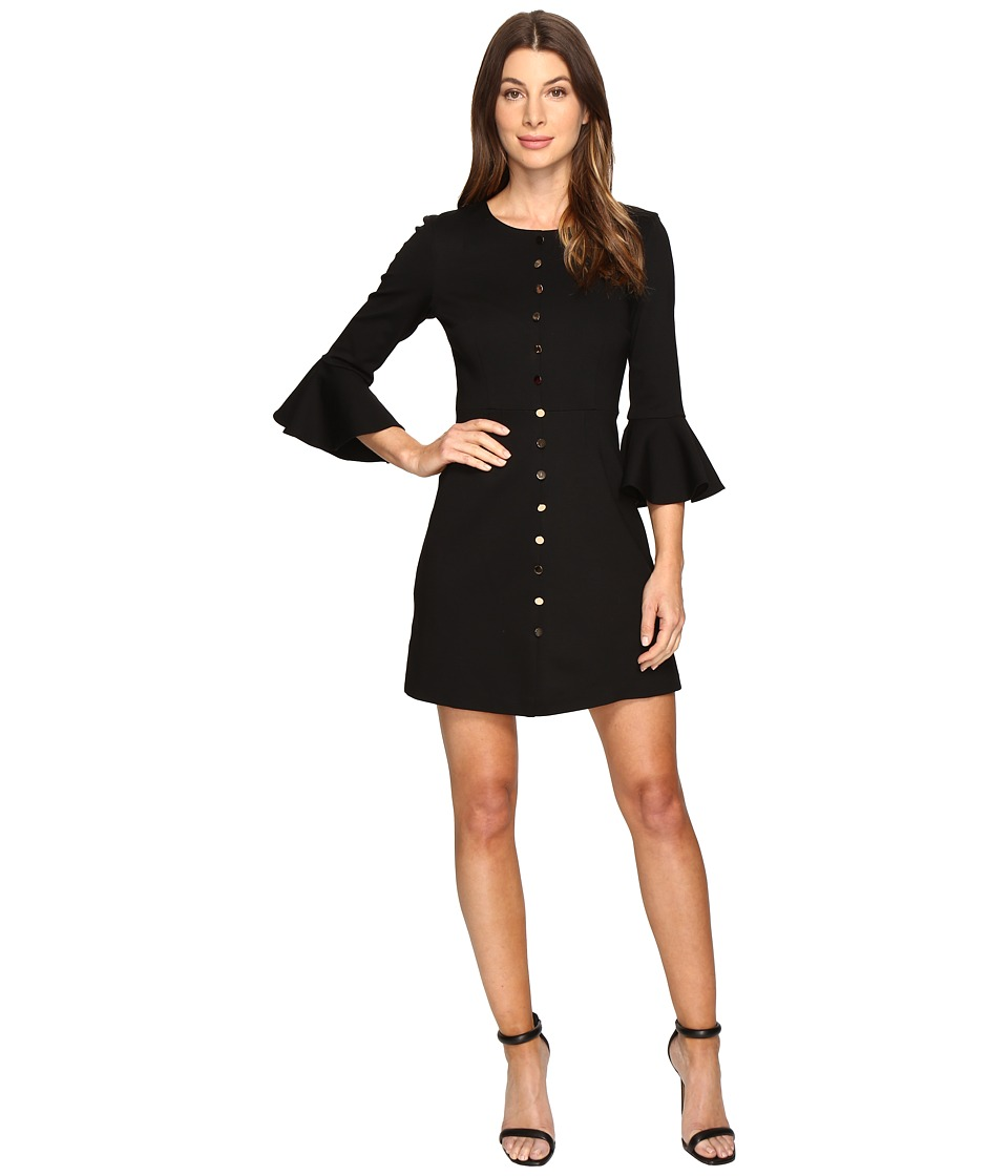 Trina Turk Mirana Dress (Black) Women