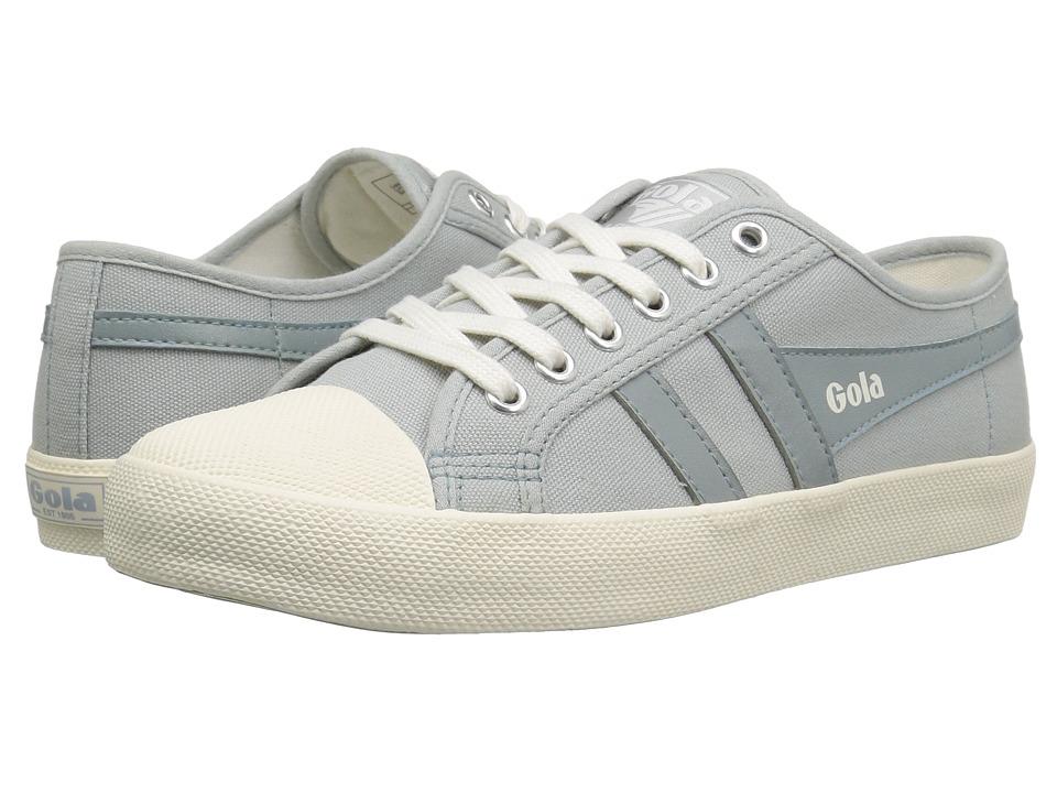 Gola - Coaster (Pale Grey/Off-White) Women's Shoes