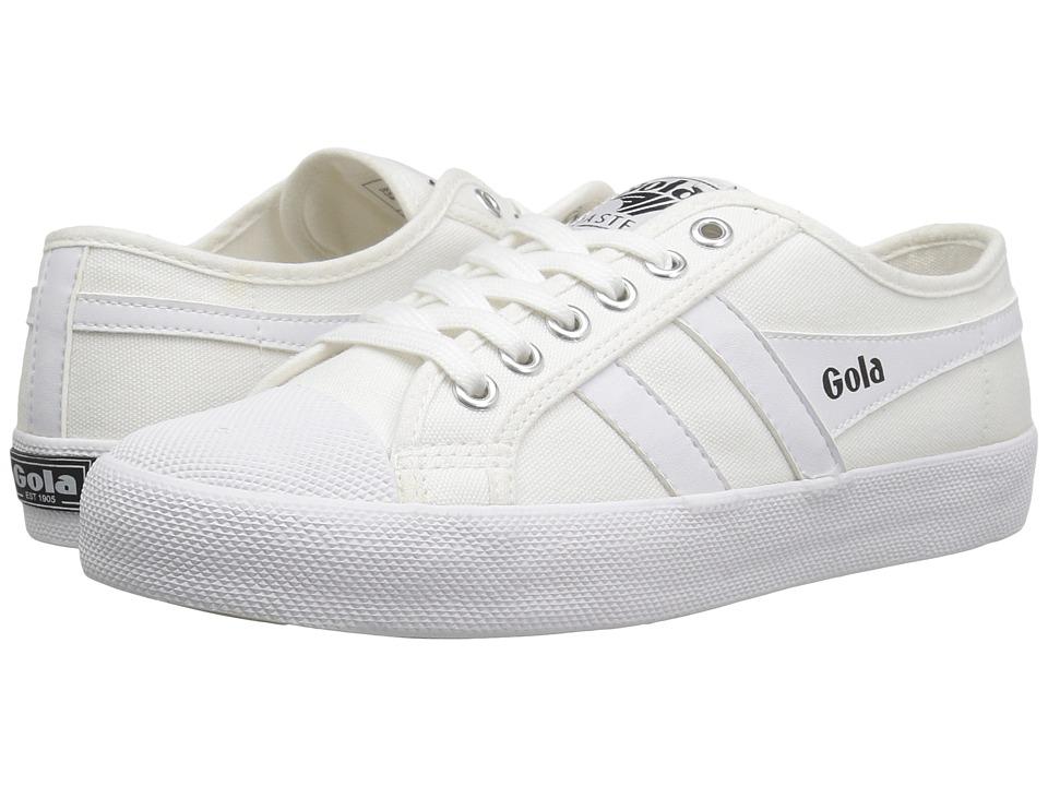 Gola - Coaster (White/White) Women's Shoes