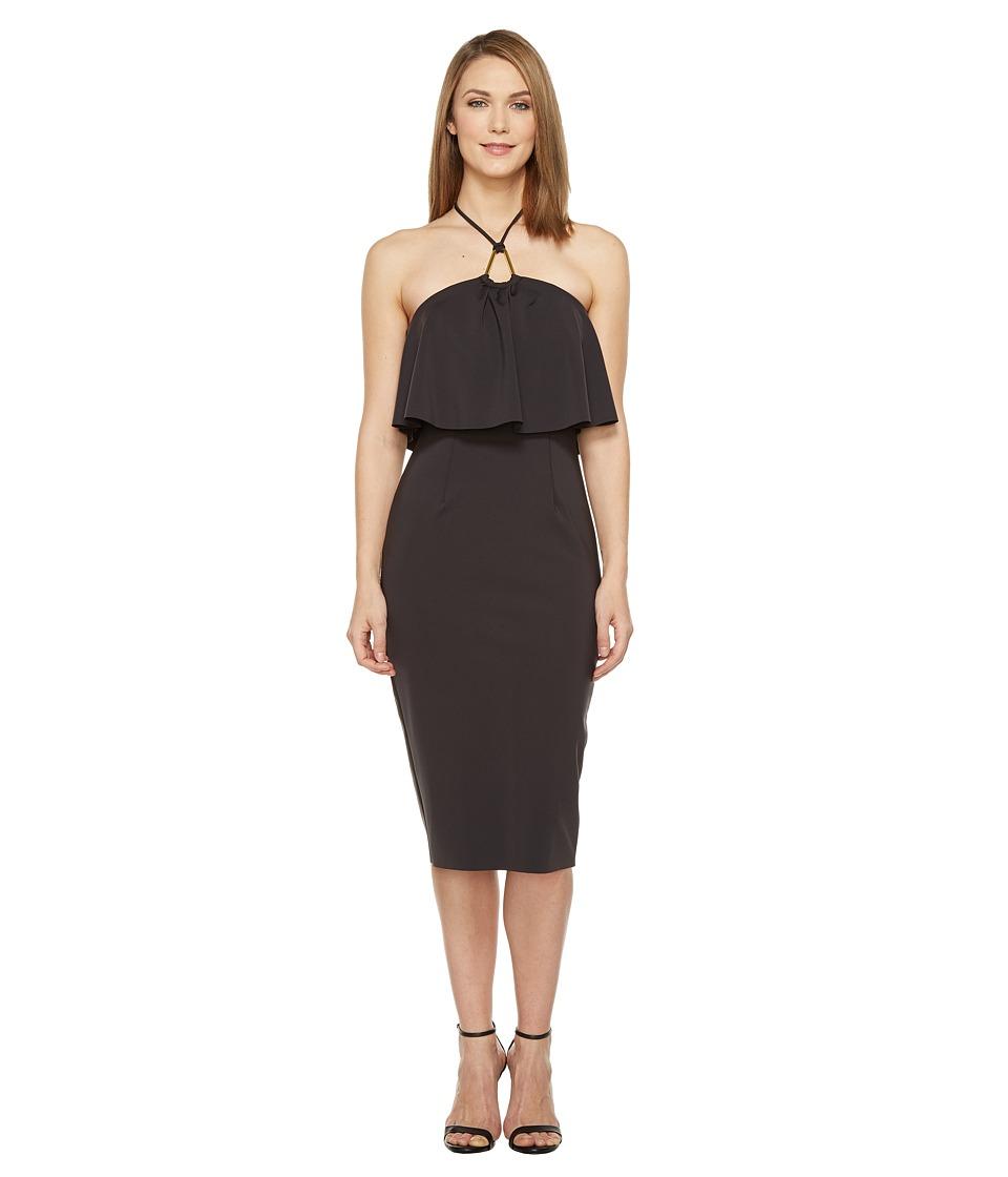 Trina Turk Soozy Dress (Black) Women
