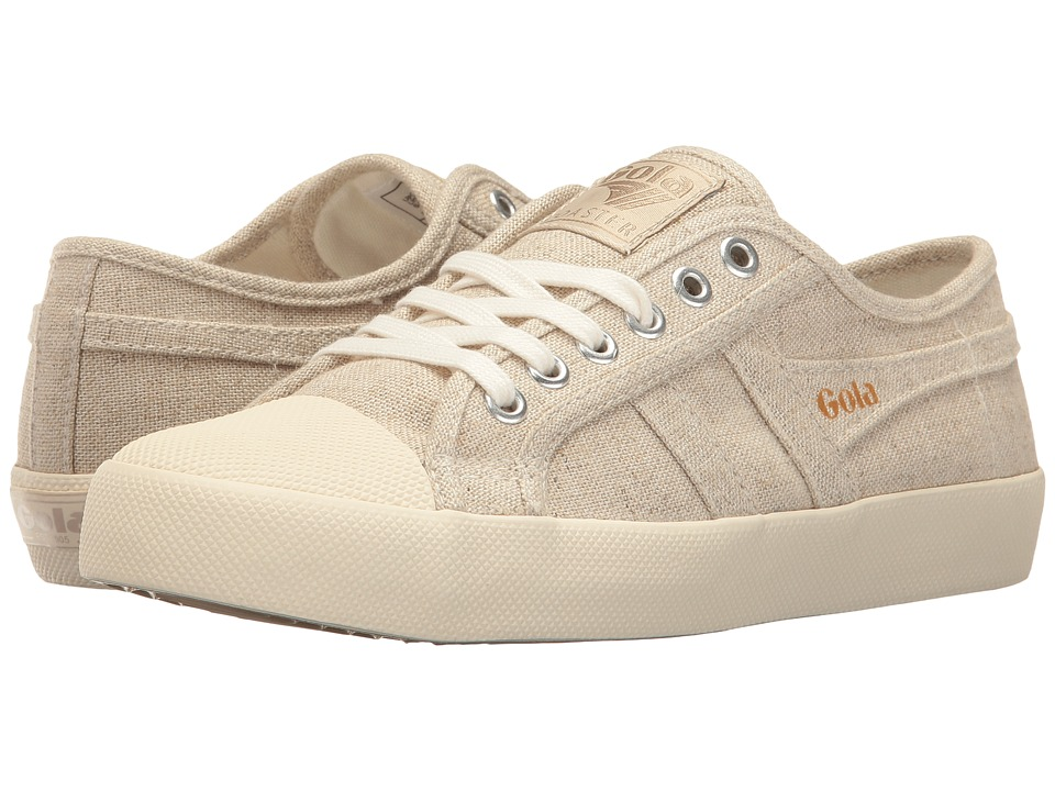 Gola - Coaster Linen (Oatmeal/Off-White) Women's Shoes