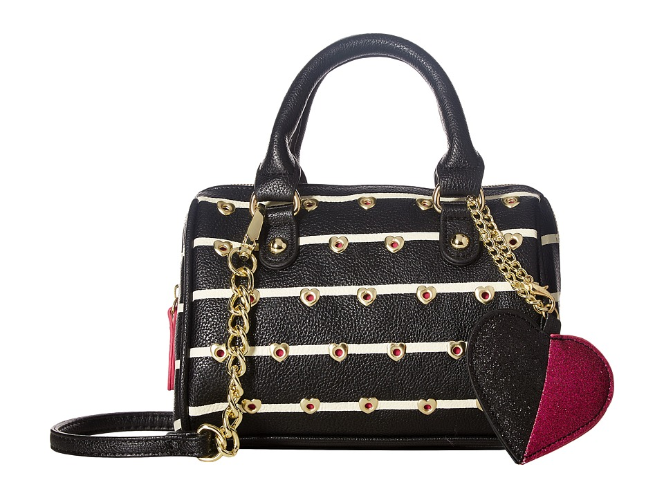 Betsey Johnson - Mini Barrel (Stripe) Handbags