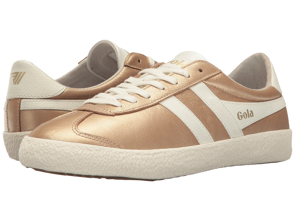 Gola - Specialist Metallic (Gold/Off-White) Women's Shoes