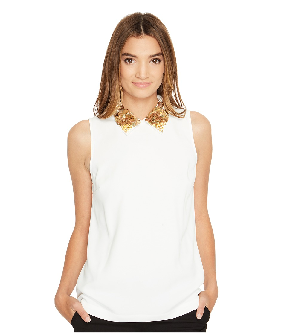 Trina Turk - Amaranth 2 Top (White Wash) Women's Clothing