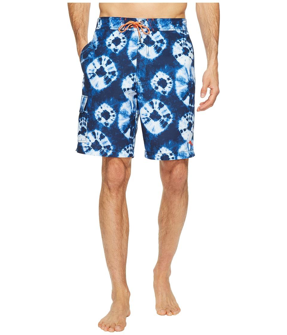 Tommy Bahama - Baja Deep Sea Indigo Swim Trunk (Maritime) Men's Swimwear