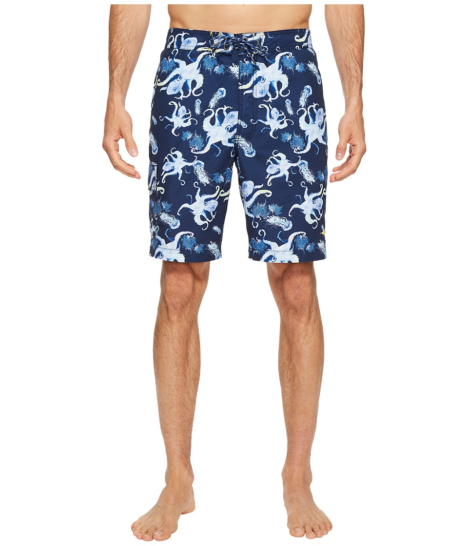 Tommy Bahama - Baja Kraken Up Boardshort (Ocean Deep) Men's Swimwear