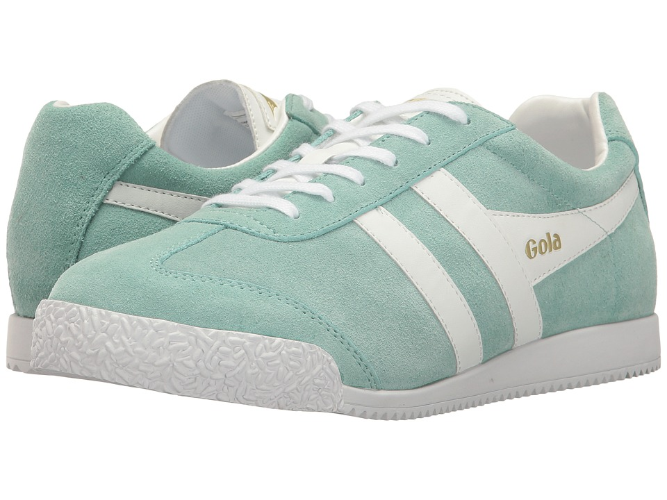 Gola - Harrier (Pastel Mint/White) Women's Shoes