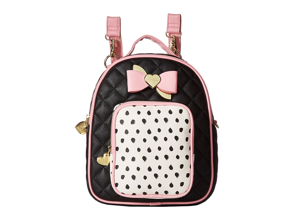 Betsey Johnson - Mini Convertible Backpack (Spot) Backpack Bags
