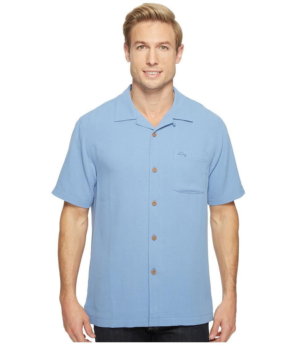 Tommy Bahama - Royal Bermuda Camp Shirt (Buccaneer Blue) Men's Clothing