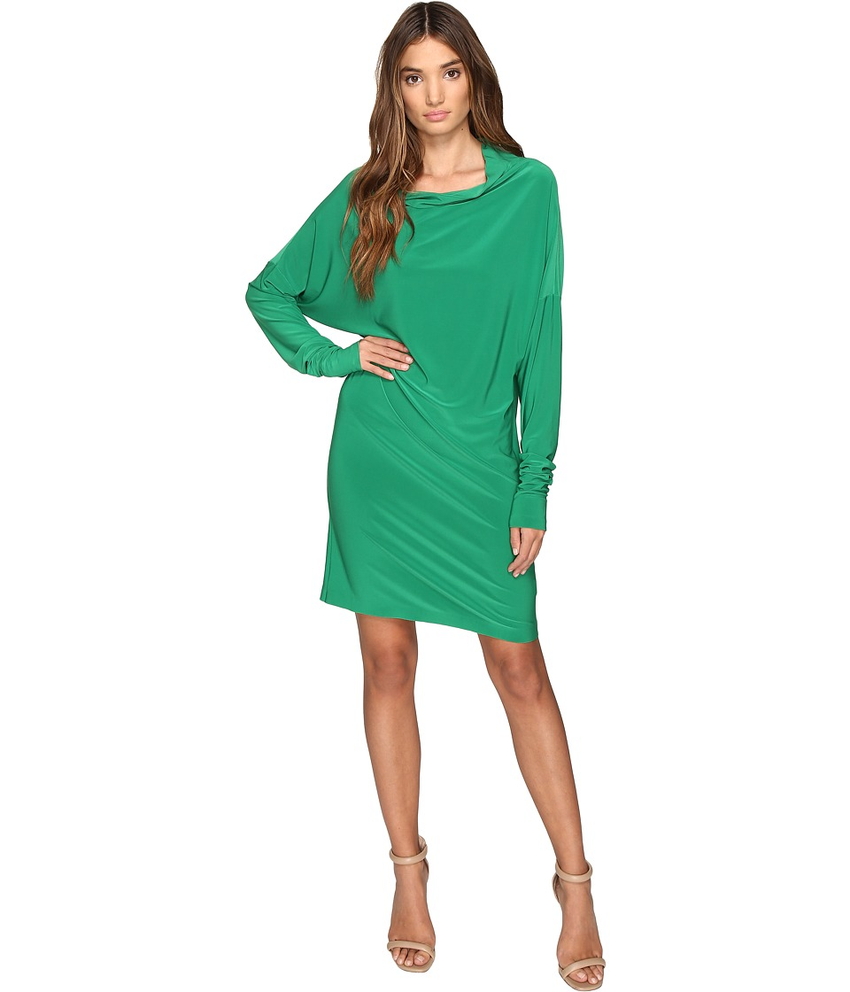 KAMALIKULTURE by Norma Kamali - All In One Dress (Kelly Green) Women's Dress