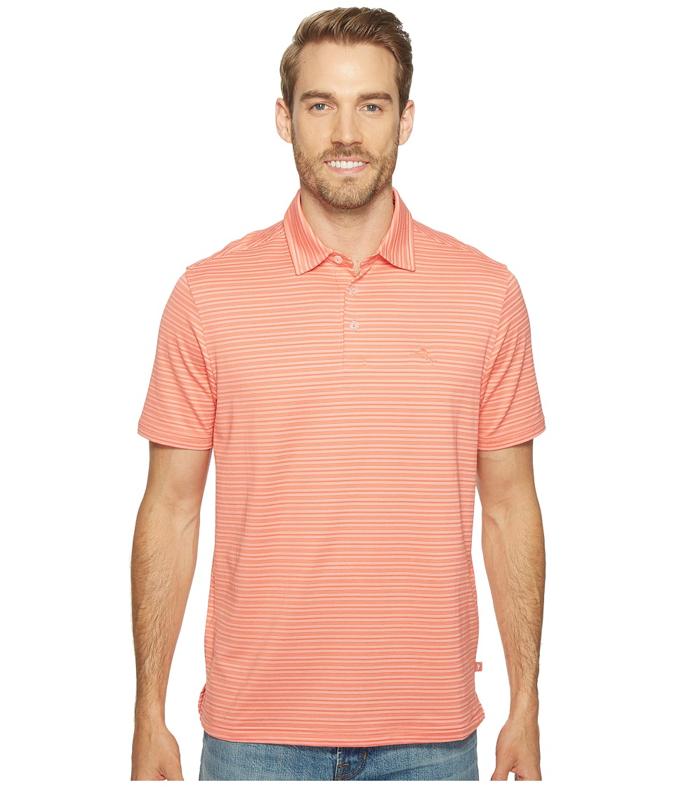 Tommy Bahama - On Par Stripe Polo (Fusion) Men's Clothing