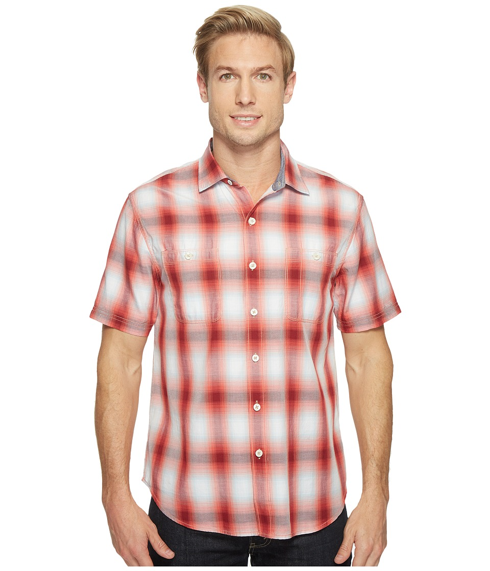 Tommy Bahama - Plaid For You Camp Shirt (Fusion) Men's Clothing