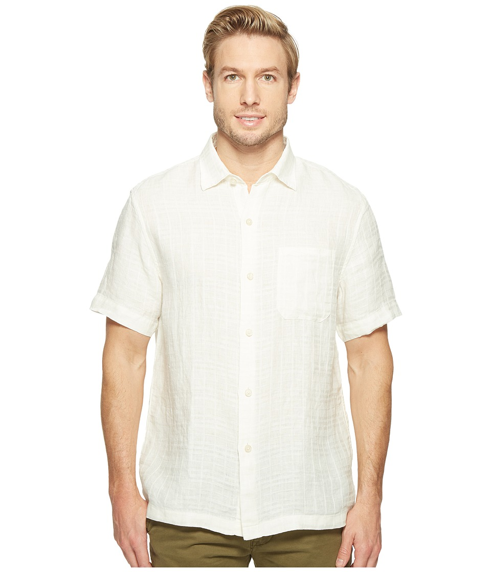Tommy Bahama - The Big Bossa Camp Shirt (Marble Cream) Men's Clothing