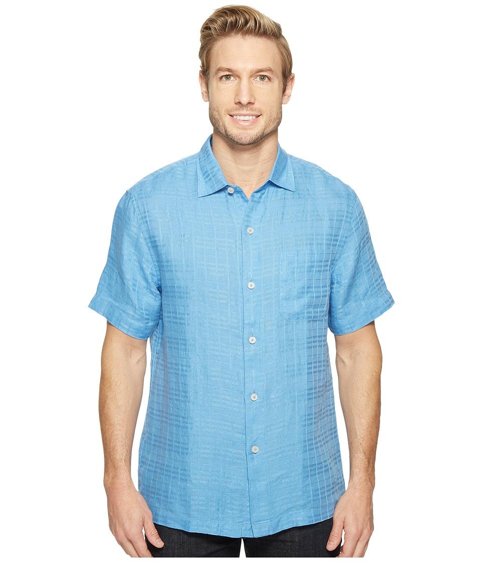 Tommy Bahama - The Big Bossa Camp Shirt (Blue Yonder) Men's Clothing