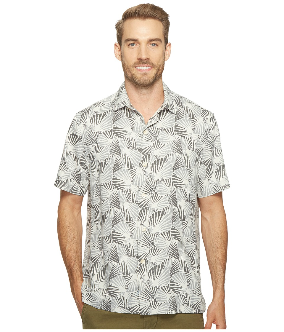 Tommy Bahama - Shell We Dance Camp Shirt (Concrete Grey) Men's Clothing