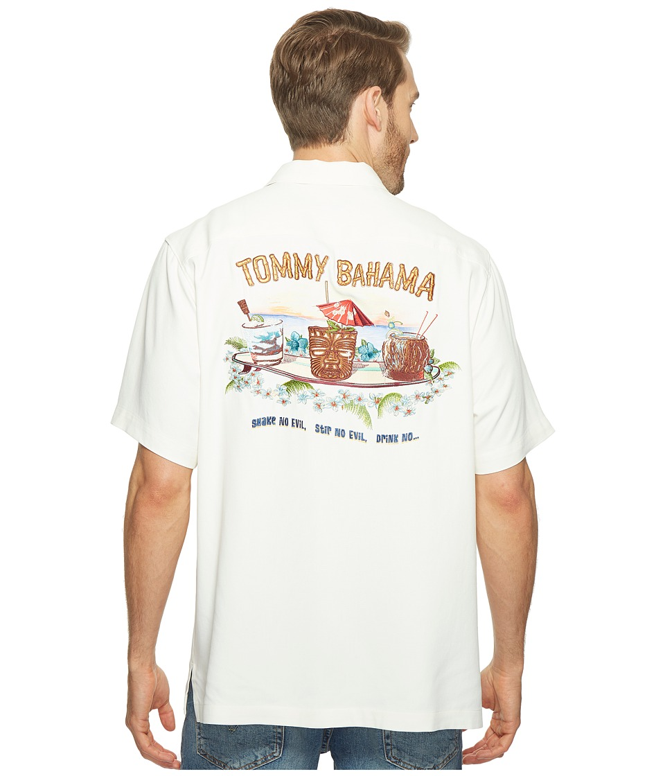 Tommy Bahama - Shake No Evil Camp Shirt (Continental) Men's Clothing