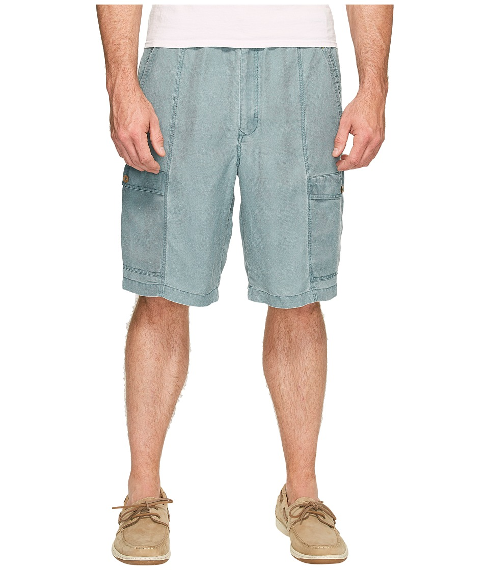 Tommy Bahama Big & Tall - Big Tall Linen The Dream Cargo Lounger (Pacific Storm) Men's Shorts