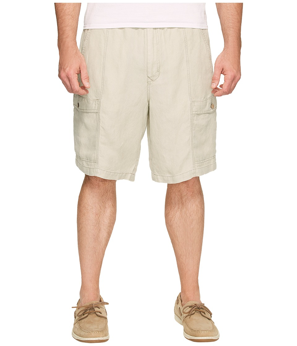 Tommy Bahama Big & Tall - Big Tall Linen The Dream Cargo Lounger (Khaki Sands) Men's Shorts