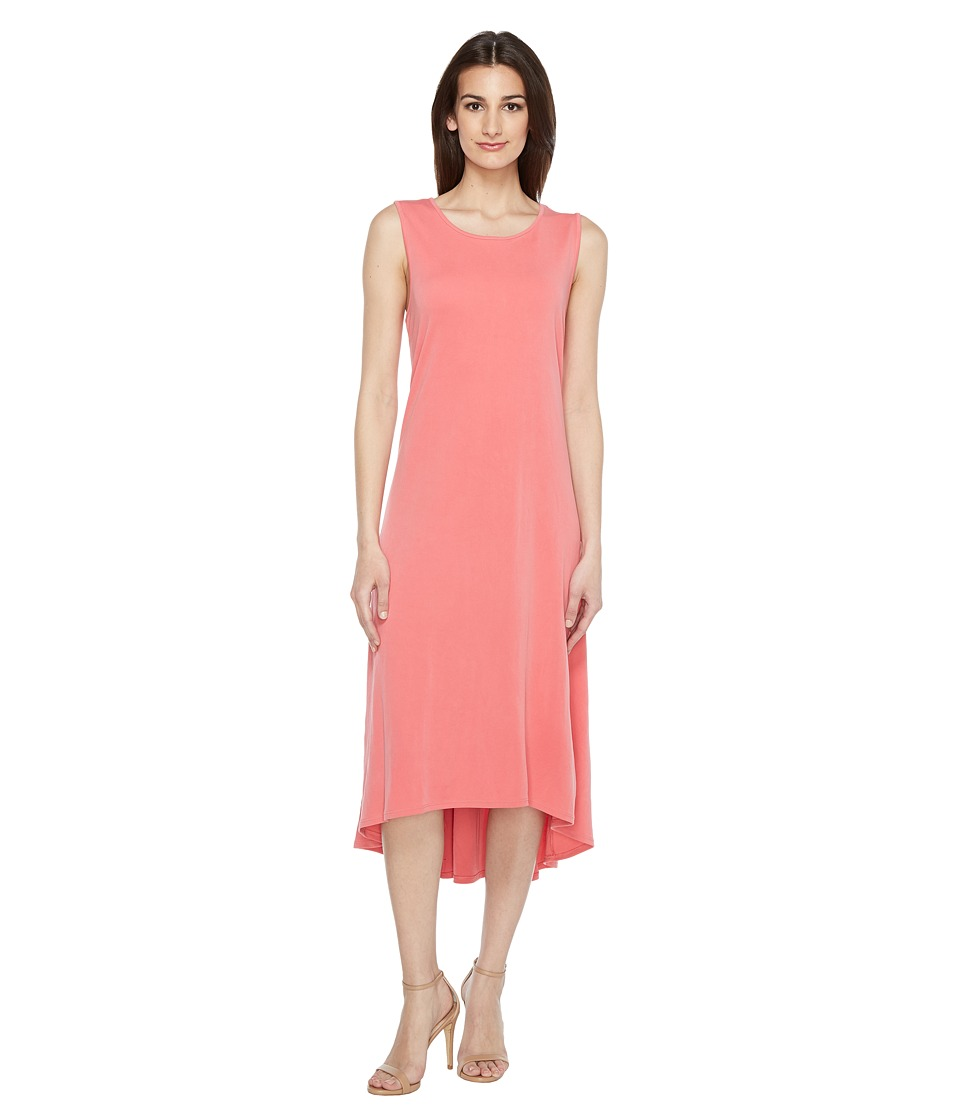 Vince Camuto - Sleeveless High-Low Hem Dress (Rossetto) Women's Dress