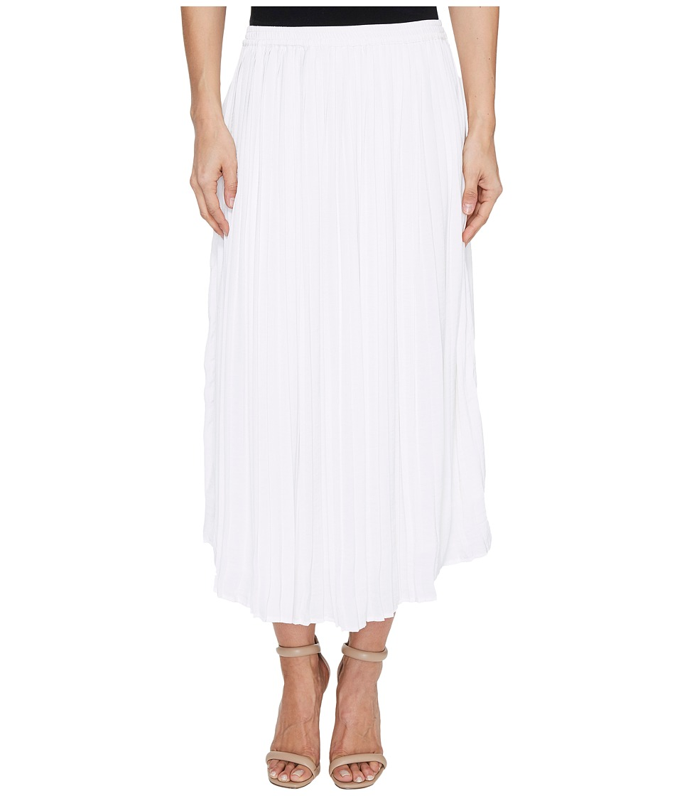 Vince Camuto - Pleated Rumple Skirt (New Ivory) Women's Skirt