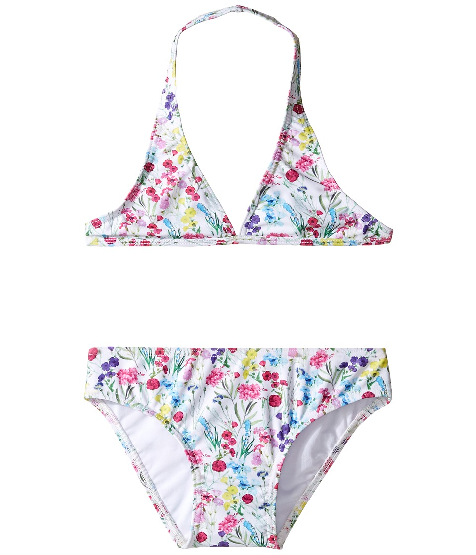 Oscar de la Renta Childrenswear - Botanical Flora Classic Bikini (Toddler/Little Kids/Big Kids) (Multi) Girl's Swimwear Sets