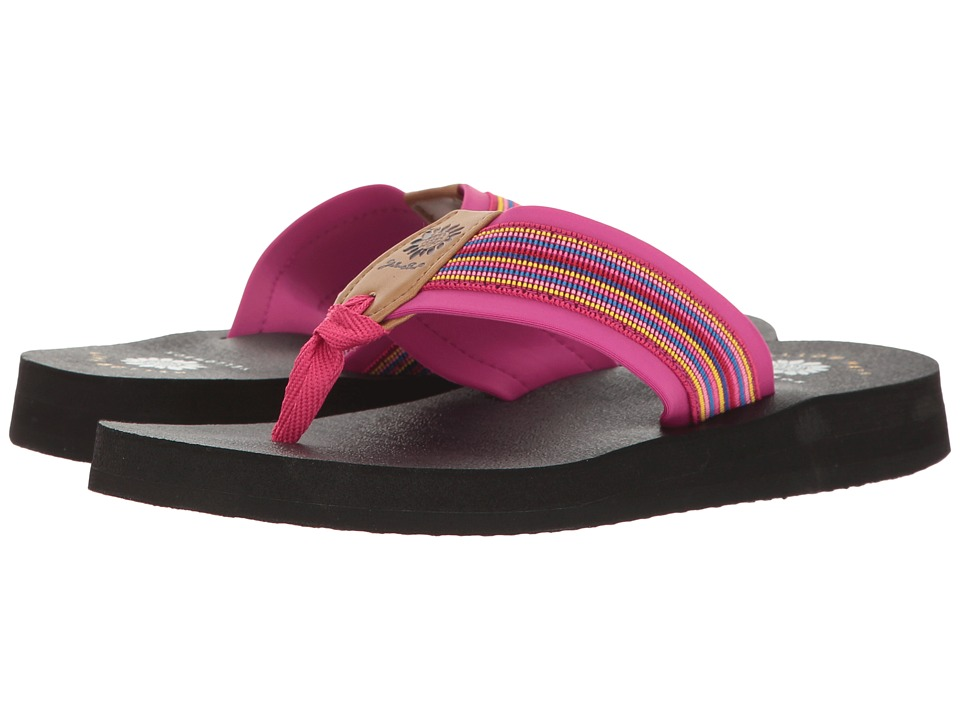 Yellow Box - Edell (Fuchsia Multi) Women's Wedge Shoes