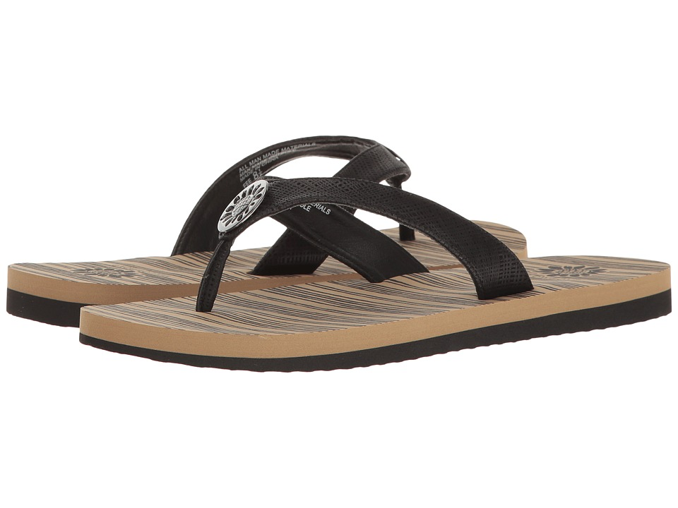 Yellow Box - Fee (Black) Women's Sandals