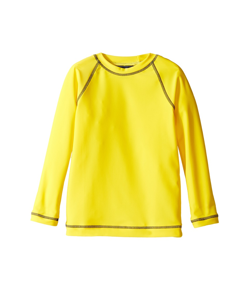 Oscar de la Renta Childrenswear - Lycra Rashguard (Toddler/Little Kids/Big Kids) (Lemon) Boy's Swimwear
