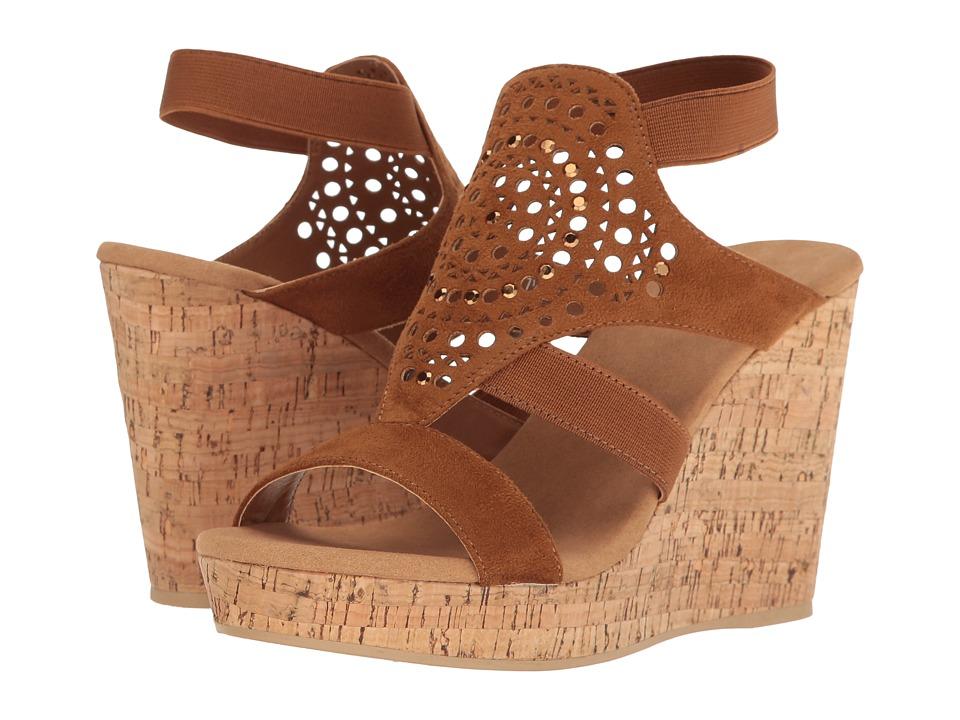 Yellow Box - Nyellie (Luggage) Women's Wedge Shoes