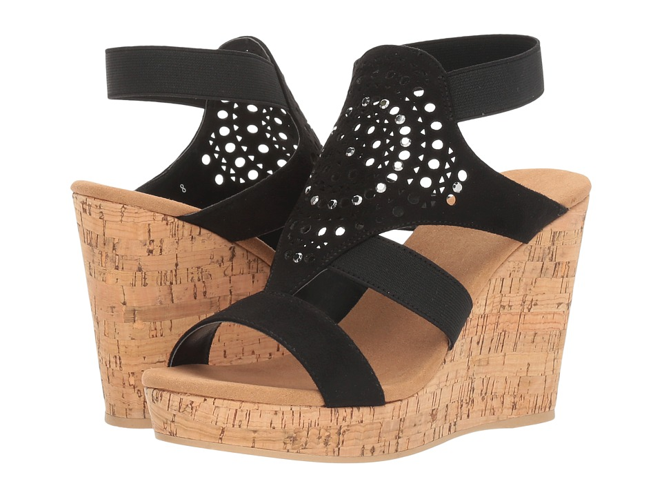 Yellow Box - Nyellie (Black) Women's Wedge Shoes