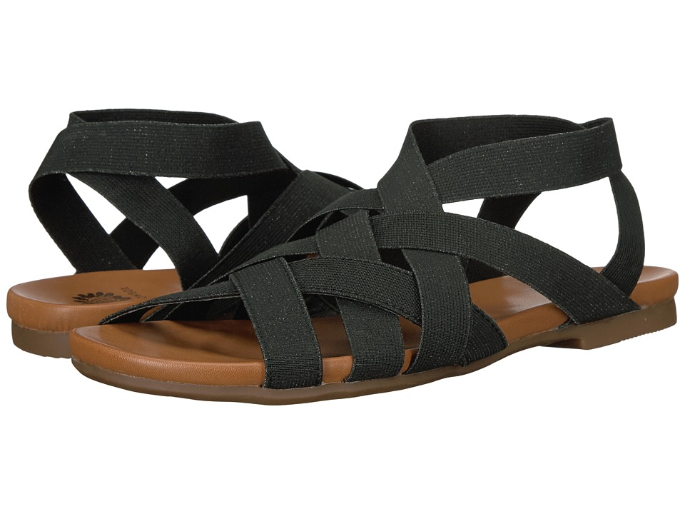 Yellow Box - Pecan (Black) Women's Dress Sandals