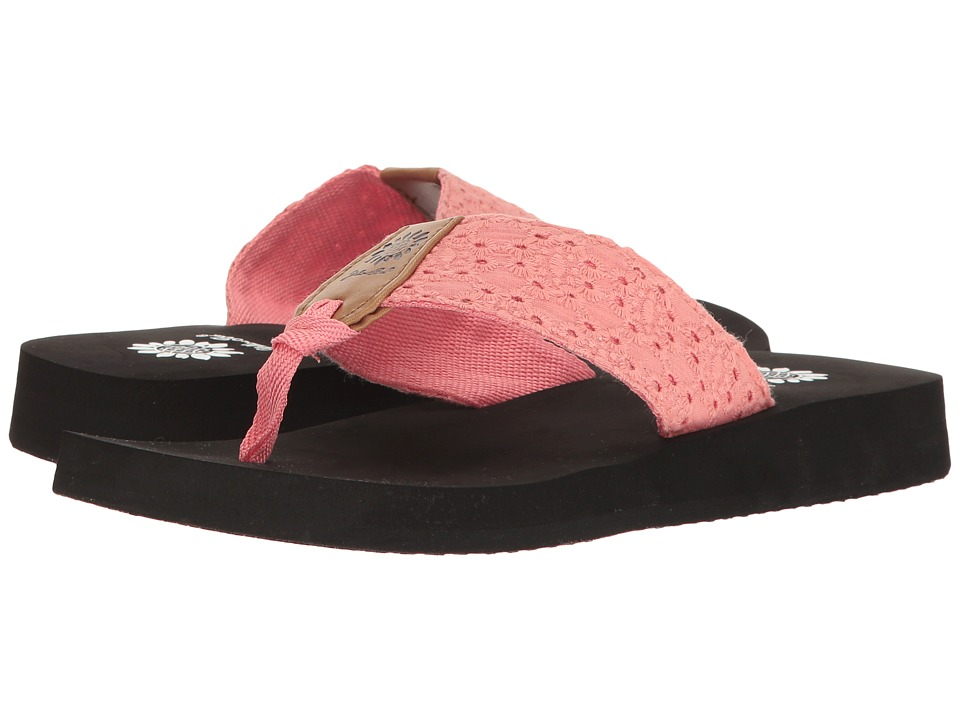 Yellow Box - Prunella (Coral) Women's Sandals
