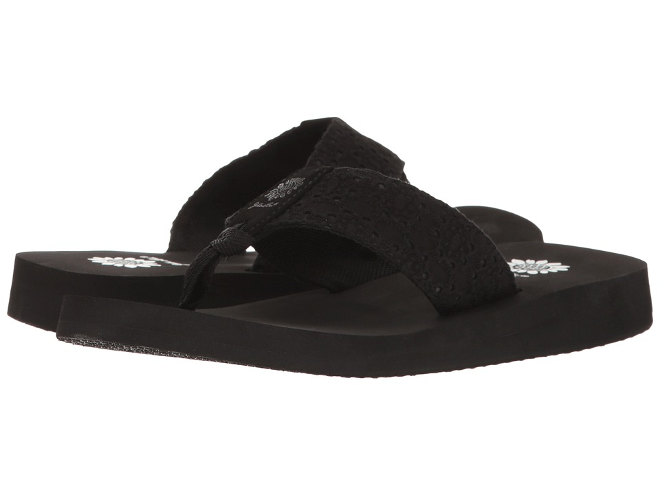 Yellow Box - Prunella (Black) Women's Sandals
