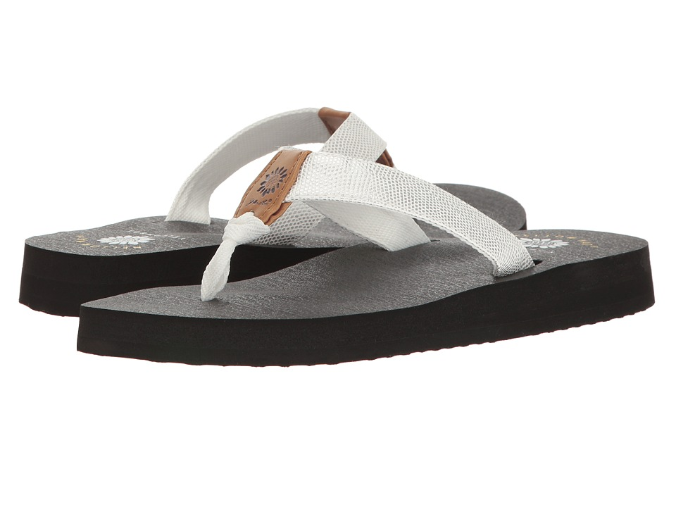 Yellow Box - Sagecrest (White) Women's Sandals